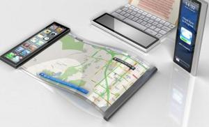 mobile ecran flexible