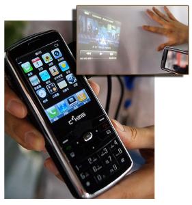mobile projecteur