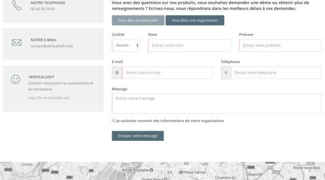 Optimisez le formulaire de contact de votre association