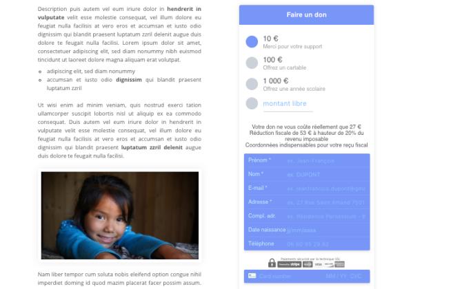 Nouveau formulaire VerticalSoft de dons en ligne pour les associations !