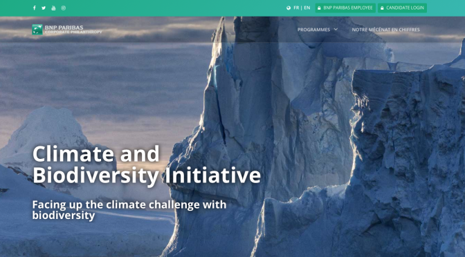 VerticalSoft is launching on its cloud-based platform the « Climate and Biodiversity Initiative » sponsorship program of the BNP Paribas Foundation
