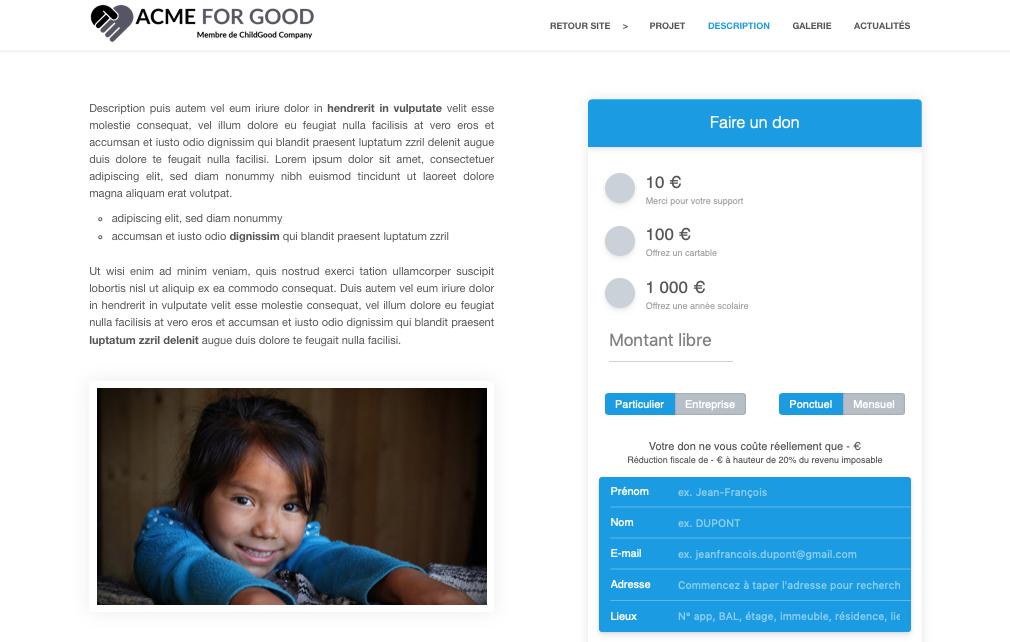 Éléments essentiels pour créer une page de dons en ligne pour votreassociation